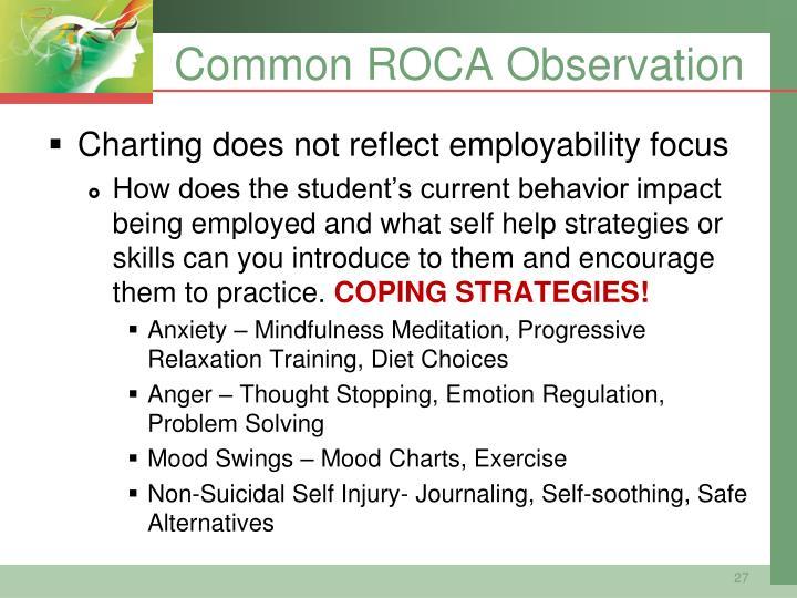 Common ROCA Observation