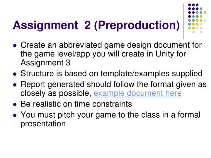 PPT Interactive Multimedia Games Development COM PowerPoint - Game pitch document template