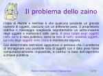 il problema dello zaino1