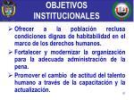 objetivos institucionales1