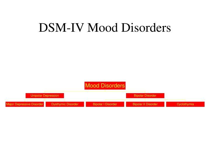 DSM-IV Mood Disorders