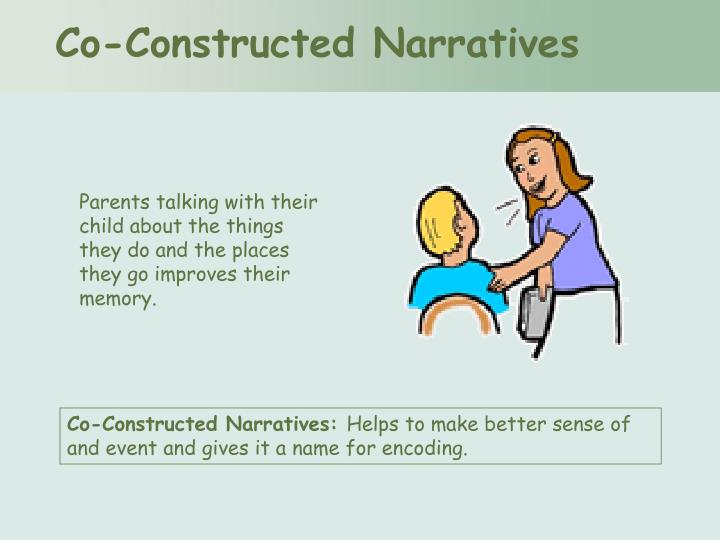 Co-Constructed Narratives