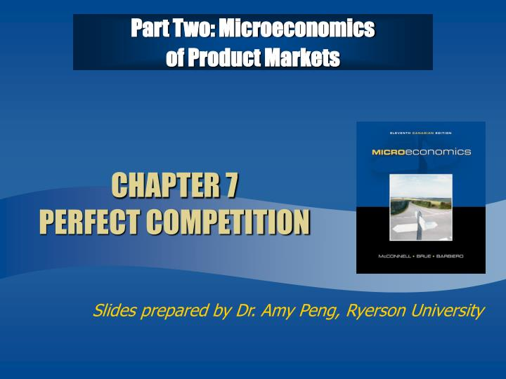 Part two microeconomics of product markets