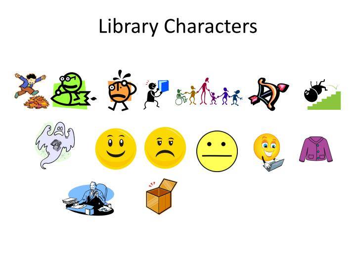 Library Characters