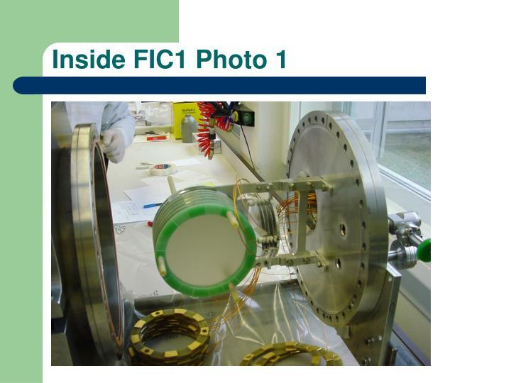 Inside FIC1 Photo 1