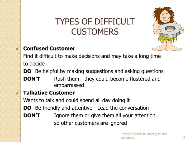 TYPES OF DIFFICULT