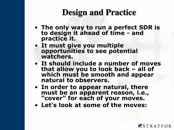 Design and Practice