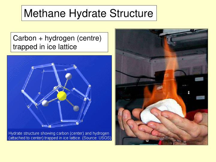 Methane Hydrate Structure