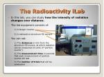 the radioactivity ilab
