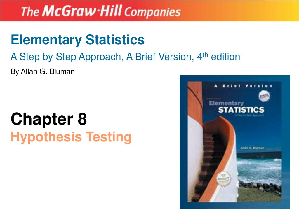 Ppt Elementary Statistics A Step By Step Approach A Brief Version