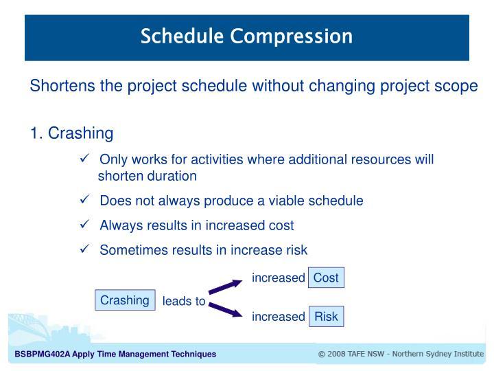 Schedule Compression