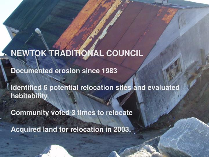 Newtok Traditional Council
