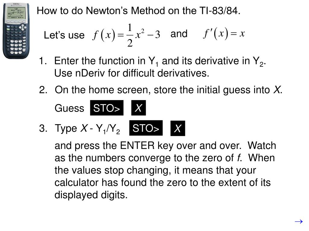 PPT - 4 5: Linearization and Newton's Method, p  233