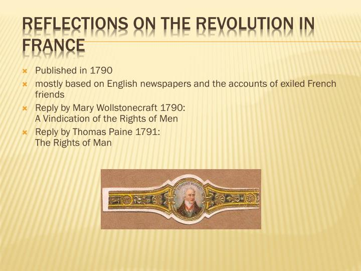 an analysis of the edmund burkes reflections of the revolution in france Read reflections on the revolution in france [christmas summary classics] by edmund burke with rakuten kobo christmas summary classics this series contains summary.