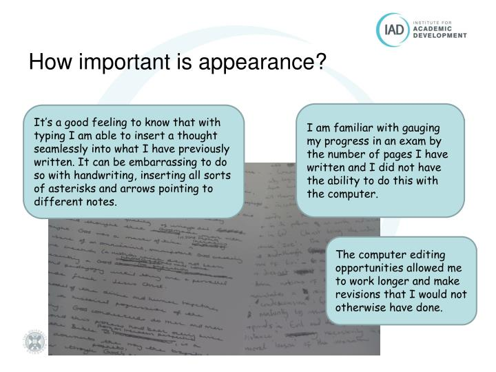 handwriting vs typing essay