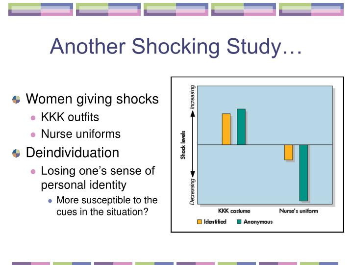Another Shocking Study…