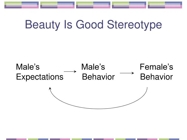 Beauty Is Good Stereotype