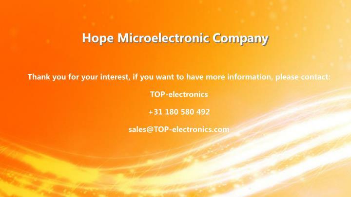 Hope Microelectronic Company