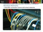 hardware and connection issues in wired wireless networks2