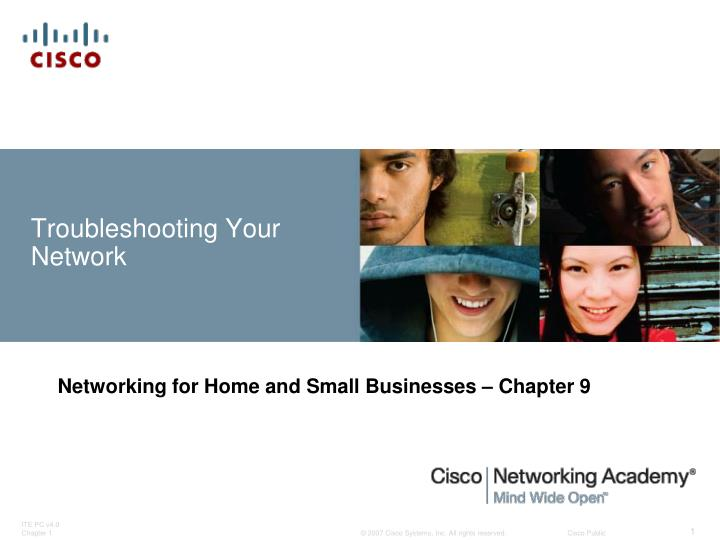 troubleshooting your network n.