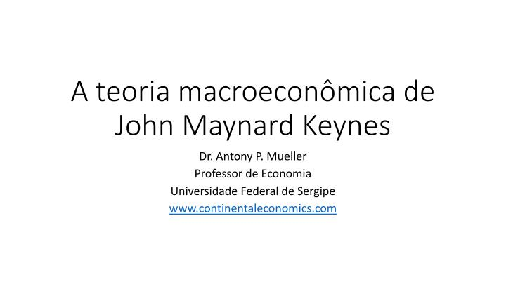 keynes essay economic possibilities for our grandchildren