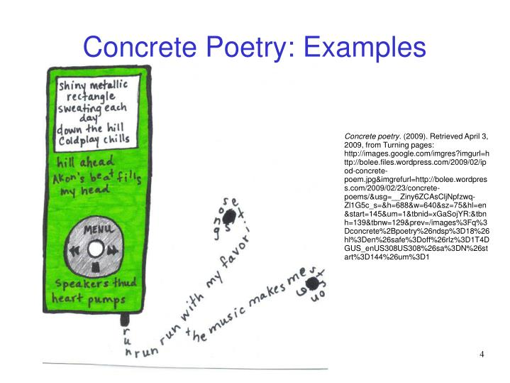 beat poetry examples