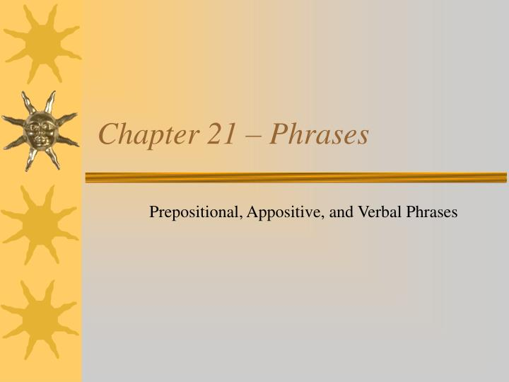 chapter 21 phrases n.