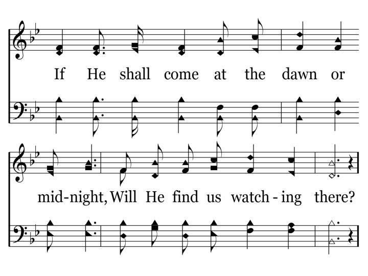 320 - Will Jesus Find Us Watching - 3.2