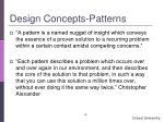 design concepts patterns