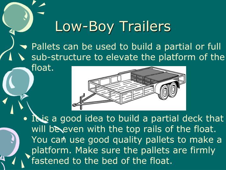 Low-Boy Trailers