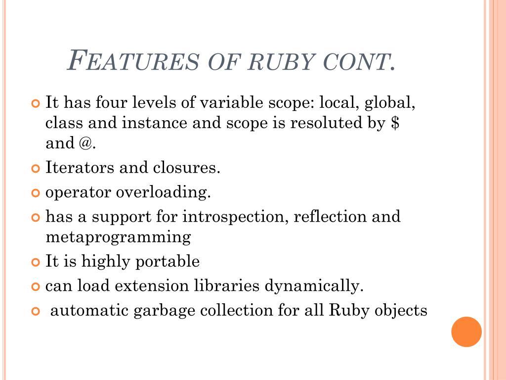 Ppt Ruby On Rails Powerpoint Presentation Id 6313312