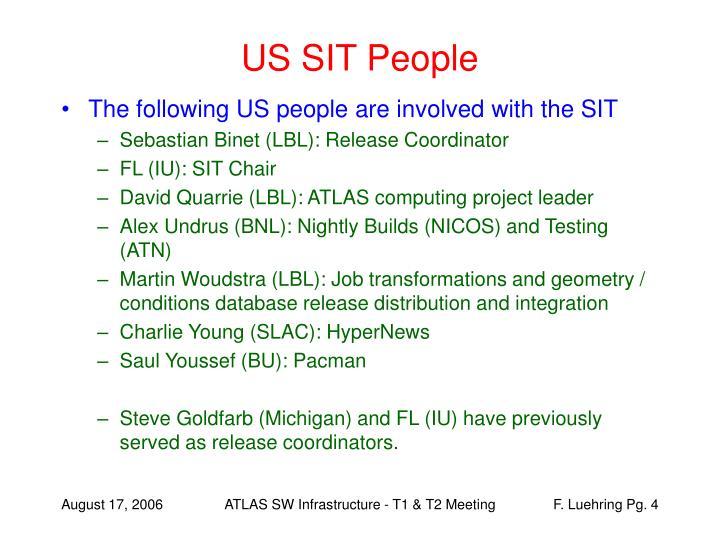US SIT People