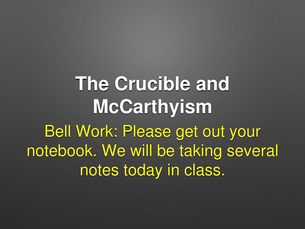 mccarthyism powerpoint