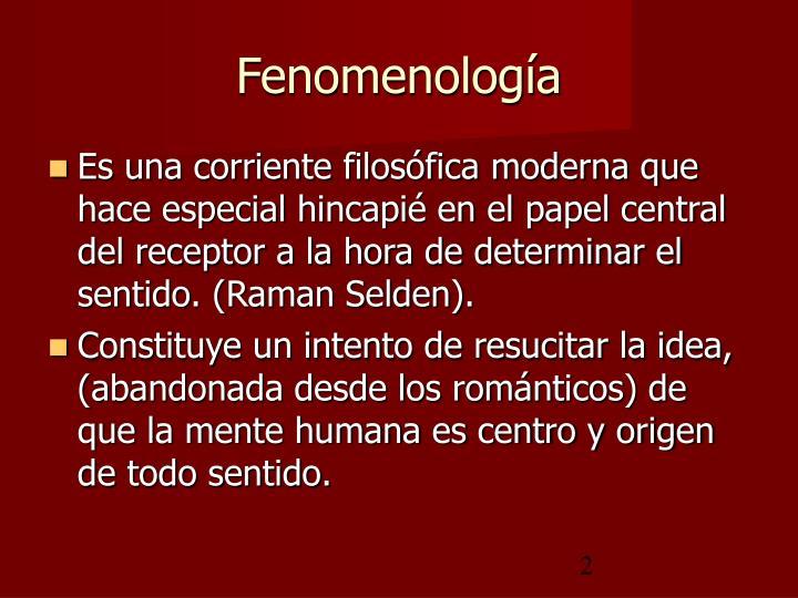 Fenomenolog a1