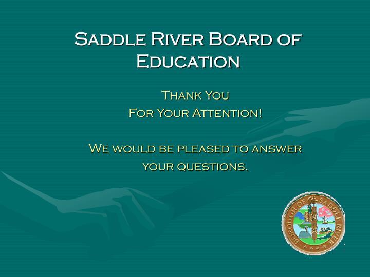 Saddle River Board of