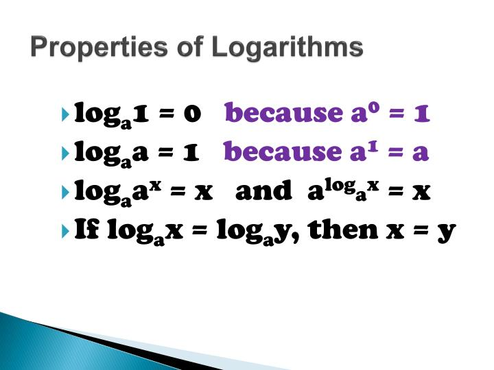 PPT - 5.2 Logarithmic Functions & Their Graphs PowerPoint ...