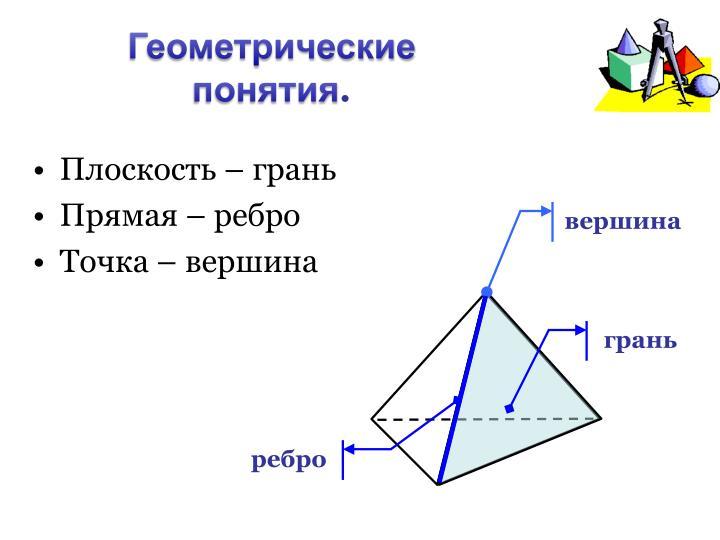 Геометрические понятия