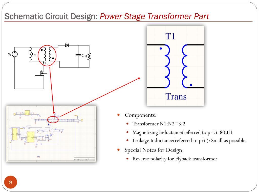 PPT - ECE 4284 Flyback Converter Design PowerPoint Presentation - ID