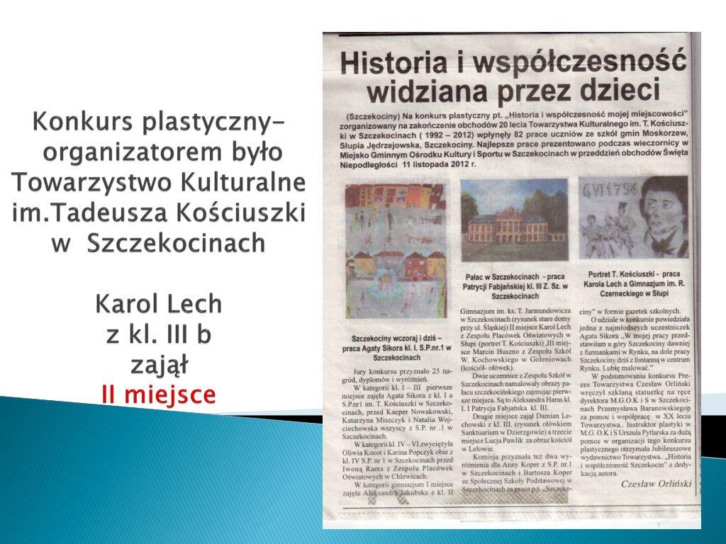 PPT - Sprawozdanie z pracy szkoły Gimnazjum Publiczne im