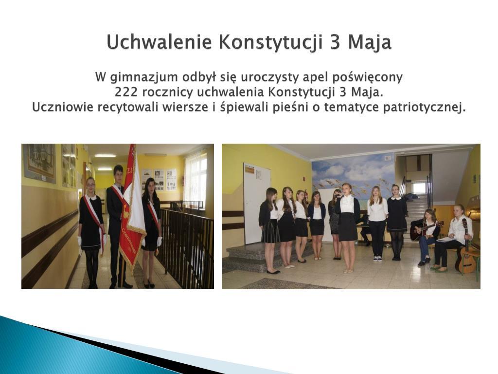 Ppt Sprawozdanie Z Pracy Szkoły Gimnazjum Publiczne Im