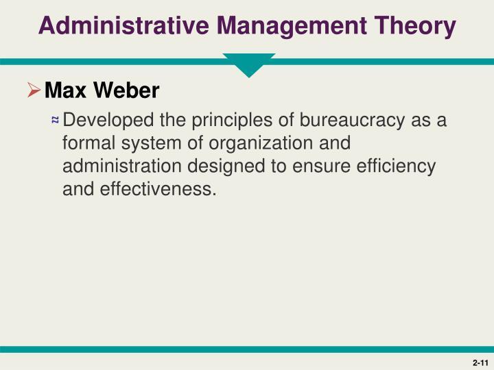 weber s principles of bureaucracy