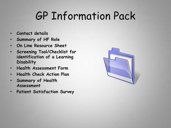 GP Information Pack