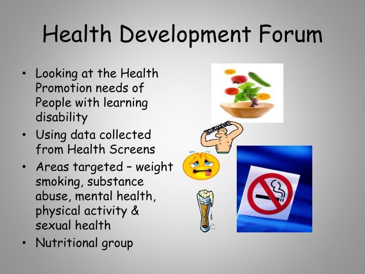 Health Development Forum