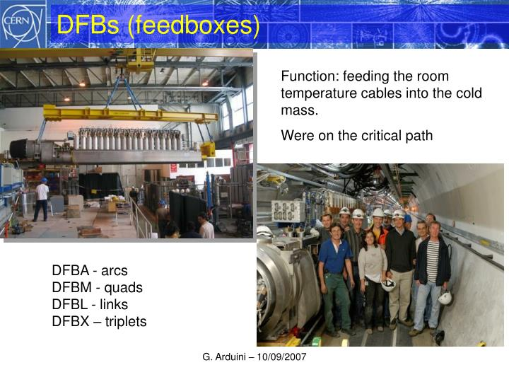 DFBs (feedboxes)