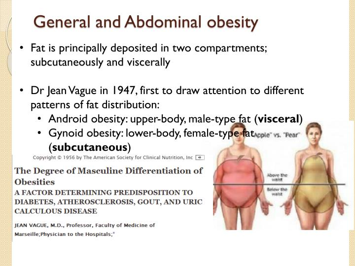 General and Abdominal obesity