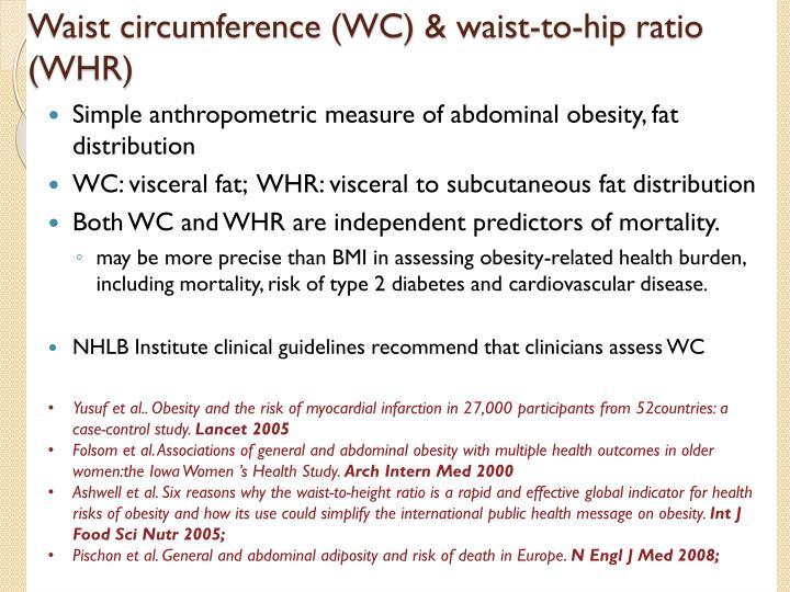 Waist circumference (WC) &