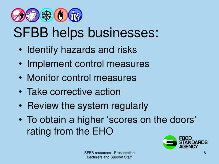 SFBB helps businesses: