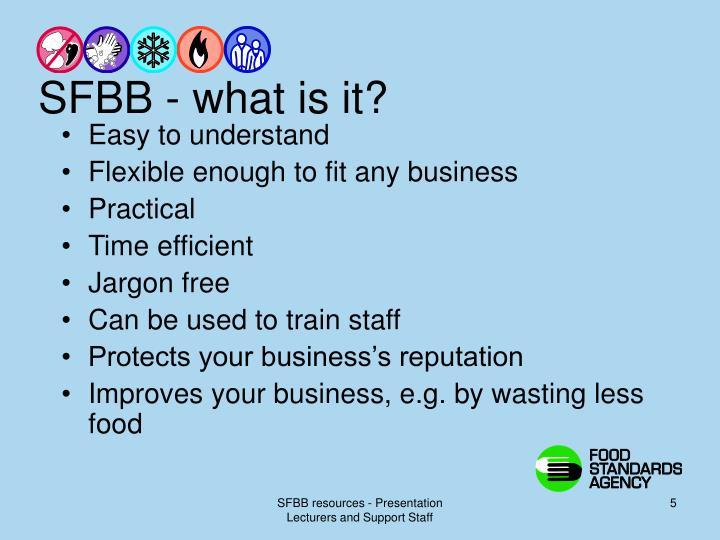 SFBB - what is it?