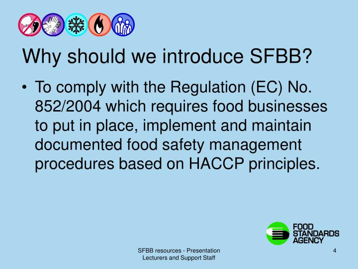 Why should we introduce SFBB?