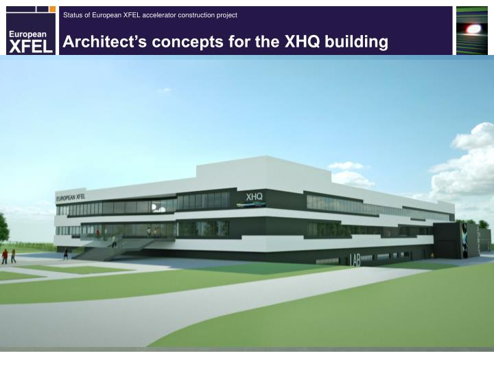 Architect's concepts for the
